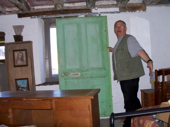 faire une porte coulissante avec une ancienne porte - maison ... - Faire Une Porte Coulissante Avec Une Ancienne Porte
